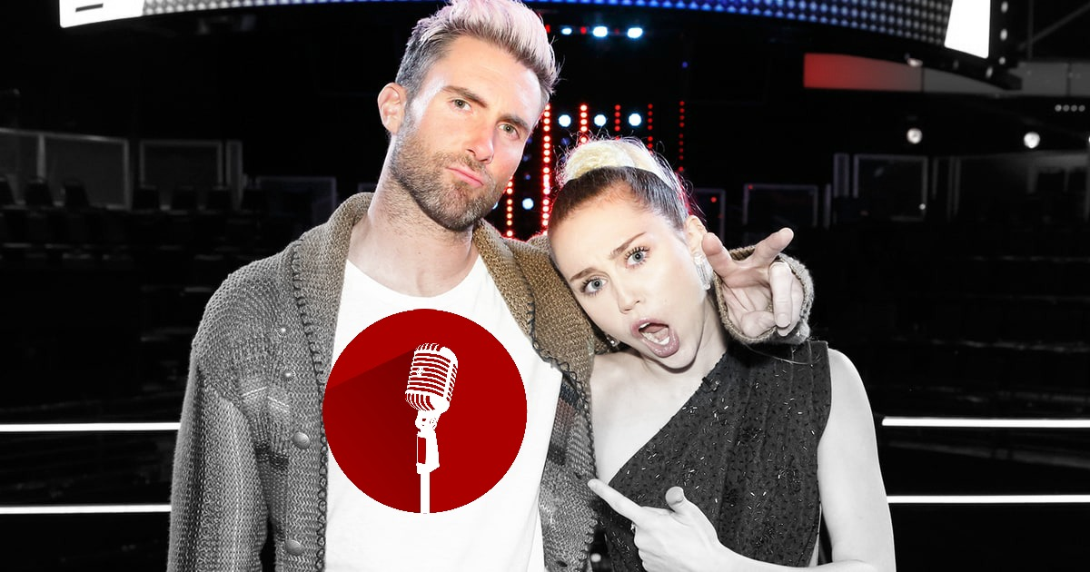 SucksRadio: :Miley and Adam Throw Downs Miley and Adam Go To Fisticuffs on the Voice
