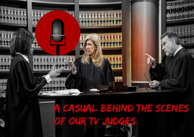SucksRadio: :Those Legal Judge Freaks|A Casual Behind the Scenes of our TV Judges