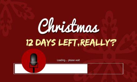 SucksRadio: :12 Days to Christmas, Really?
